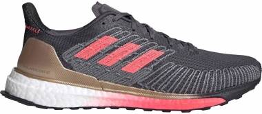 Adidas Solar Boost ST 19 - Grey Five / Signal Pink / Copper Metalic (FW7811)