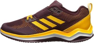 Adidas Speed Trainer 3 - Maroon/Collegiate Gold/White (Q16547)