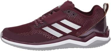 Adidas Speed Trainer 3 - Maroon/Metallic Silver/White (Q16548)