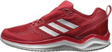 Adidas Speed Trainer 3 - Power Red Metallic Silver White (Q16542)