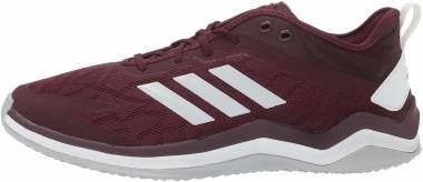Adidas Speed Trainer 4 - Maroon Crystal White Black