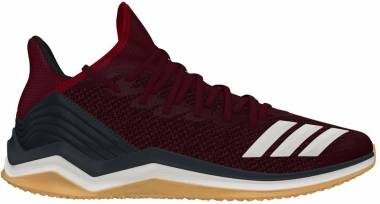 Adidas Icon 4 Trainer - Maroon/Cloud White/Carbon