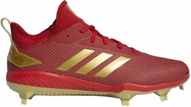 Adizero Afterburner V - Power Red / Gold Metallic / Core Black (CG5220)