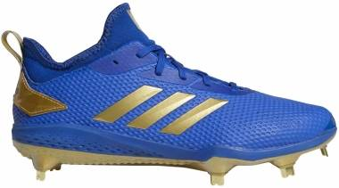 Adizero Afterburner V - Collegiate Royal Gold Metallic