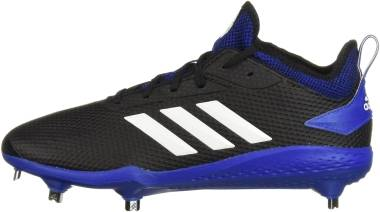 Adizero Afterburner V - Black Cloud White Collegiate Royal
