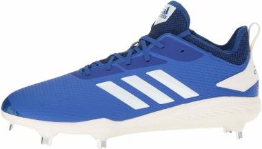 Adizero Afterburner V - Collegiate Royal Cloud Blanco Negro (CG5212)