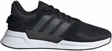 Adidas Run 90s - Noir Gris Foncã Blanc