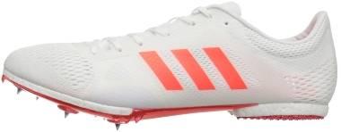 Adidas Adizero MD - White Infrared Metallic Silver