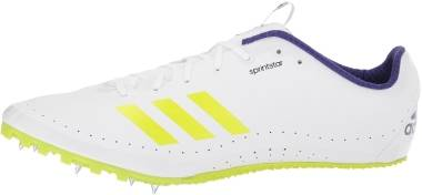 Adidas Sprintstar - Footwear White Crystal White Real Purple (CP9081)