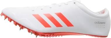 Adidas Adizero Prime SP - White Infrared Metallic Silver