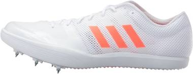 Adidas Adizero LJ - White/Solar Red/Metallic Silver (BB4100)