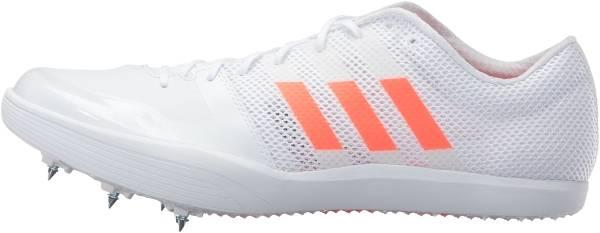 Adidas Adizero LJ - White/Solar Red/Metallic Silver