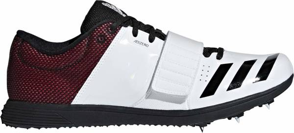 Adidas Adizero TJ/PV - Multicolor (Ftwr White/Core Black/Shock Red B37496)