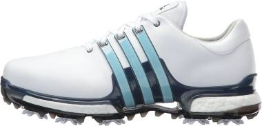 Adidas Tour 360 Boost 2.0 - White/Ice Blue/Mystery Ink (Q44984)