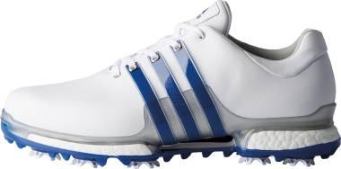 Adidas Tour 360 Boost 2.0 - White Royal Silver Metallic