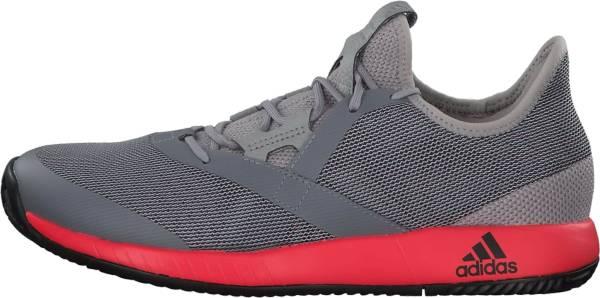 Adidas Adizero Defiant Bounce - Light Granite/Shock Red/Black (CG6349)