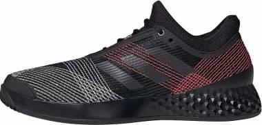 Adidas Adizero Ubersonic 3.0 - Black/Black/Signal Pink (FW4796)