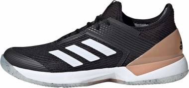 Adidas Adizero Ubersonic 3.0 - Black/White/Copper (FU8153)