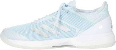 Adidas Adizero Ubersonic 3.0 - Sky Tint/Silver/White (FU8149)