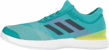 Adidas Adizero Ubersonic 3.0 - White Legend Ink Shock Yellow (CP8852)