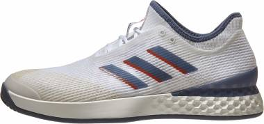 Adidas Adizero Ubersonic 3.0 - White Tech Ink Light Grey Heather (EF1152)