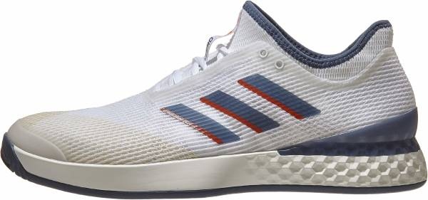 Adidas Adizero Ubersonic 3.0 - White/Tech Ink/Light Grey Heather (EF1152)