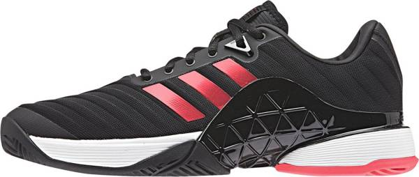 Adidas Barricade 2018 - Black/Black/Flash Red