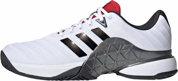 Adidas Barricade 2018 - White and Black (H67703)