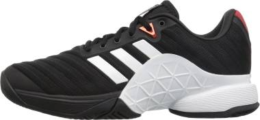 Adidas Barricade 2018 - Core Black White Scarlet