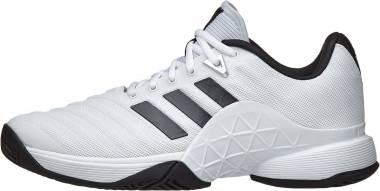 Adidas Barricade 2018 - White/Black/Matte Silver (CM7819)