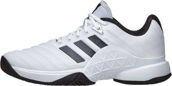 Adidas Barricade 2018 - White Ftwbla Negbás Plamat 000