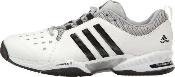 Adidas Barricade Classic - White/Core Black/Mid Grey