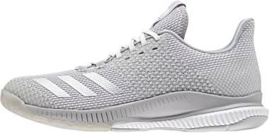 Adidas CrazyFlight Bounce 2.0 - White/Silver Metallic/Grey (CP8893)