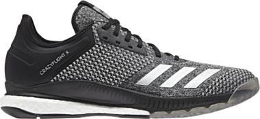 Adidas CrazyFlight X 2.0 - Black/Silver Metallic/White (CP8900)
