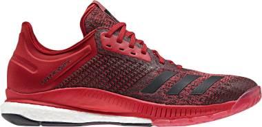 Adidas CrazyFlight X 2.0 - White Black Power Red (CP8902)