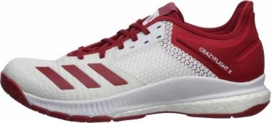 Adidas CrazyFlight X 3 - White Power Red White (F35714)