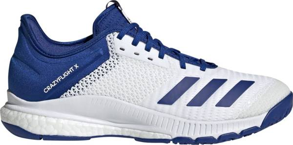 Adidas CrazyFlight X 3 - White/Collegiate Royal/White (D97834)