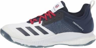 Adidas CrazyFlight X 3 - White/Collegiate Navy/Power Red (D97836)