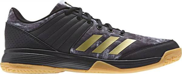 Adidas Ligra 5 - Black Core Black Gold Met Ftwr White (BY2572)