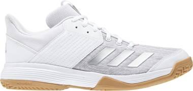 Adidas Ligra 6 - White Silver Metallic Grey