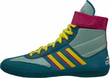 Adidas Combat Speed 5 - Aqua Yellow Teal