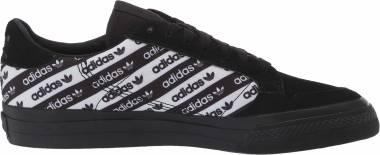 Adidas Continental Vulc - Core Black/Core Black/Semi Coral (EG8778)