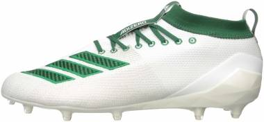 Adidas Adizero 8.0 - White/Dark Green/Bold Green