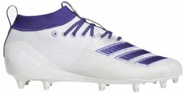 Adidas Adizero 8.0 - White/Collegiate Purple/Chalk Purple