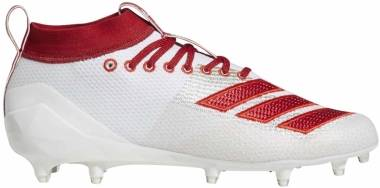 Adidas Adizero 8.0 - White/Power Red/Active Red