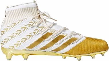 Adidas Freak Ultra - Gold Metallic White Gold Metallic