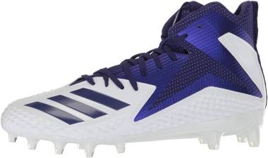 Adidas Freak X Carbon Mid - White Collegiate Purple Collegiate Purple