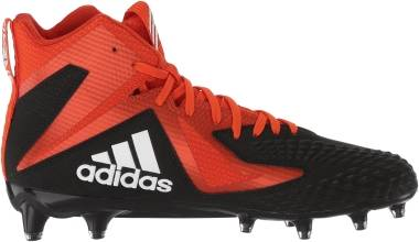Adidas Freak X Carbon Mid - Core Black White Collegiate Orange