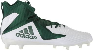 Adidas Freak X Carbon Mid - White Dark Green Dark Green