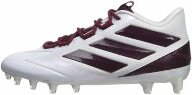 Adidas Freak Carbon Low - White Maroon White